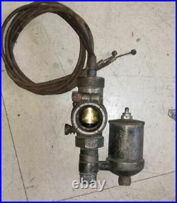 - carburateur bronze gurtner type A moto collection années 1920 1930